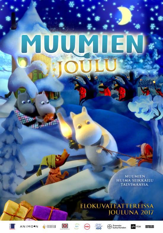 muumien joulu 2018 Muumien joulu  animaatiosta julkaistiin teaseri ja juliste  muumien joulu 2018